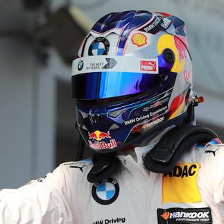 Marco Wittmann winning DTM