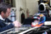 Richie Stanaway. Enzo Mucci driver coach