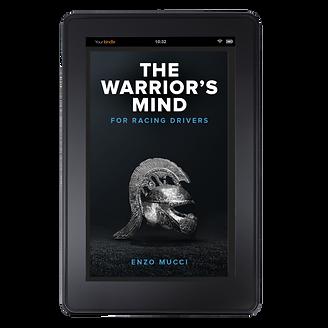 Enzo Mucci Warrior's Mind Kindle mockup.