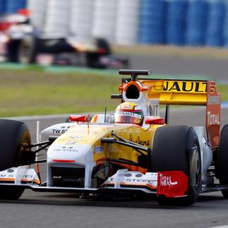 Ho Pin Tung F1 Test