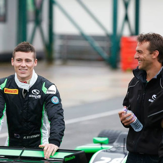 Richie Stanaway and Enzo