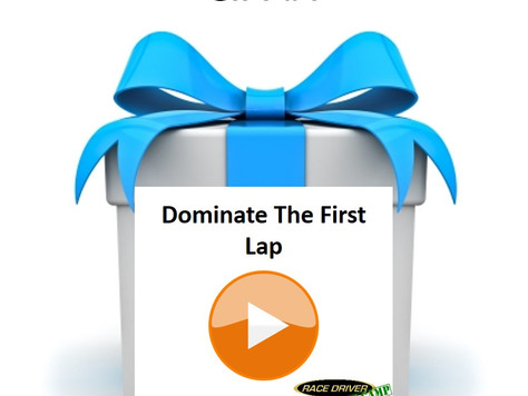Gift No. 4 - You Must Dominate The First Lap / Out Lap.