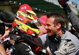 Liam Lawson Enzo Mucci driver coach