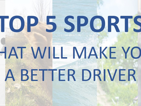 Top 5 Sports That Will Make You A Better Driver (Competitor).