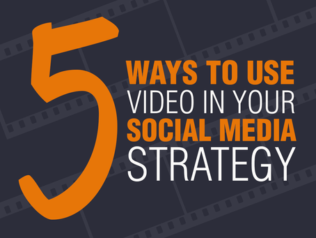 5 Ways To Use Video In Your Social Media Strategy