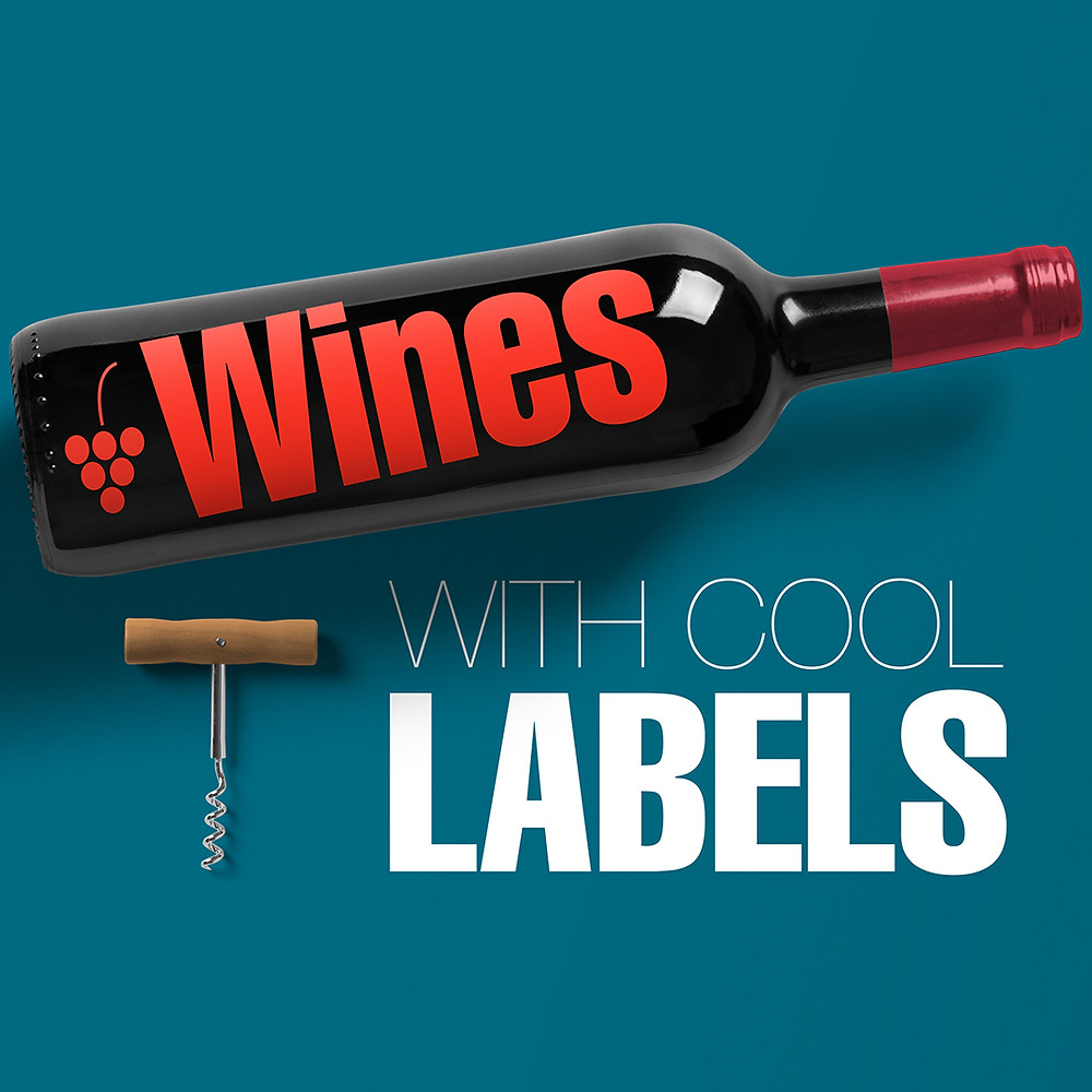 wines with cool labels