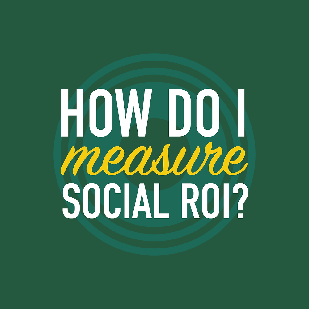 How do I measure social ROI?