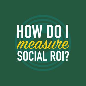 How do I measure social ROI?