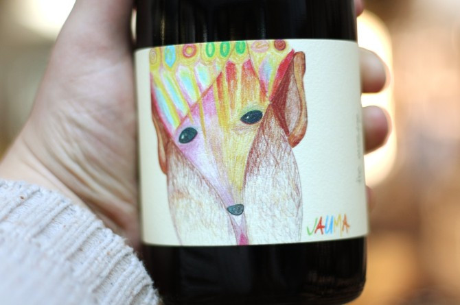 wines with cool labels jauma