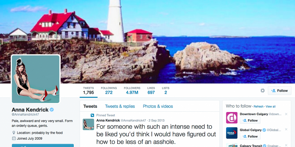 celebrity on social media anna kendrick