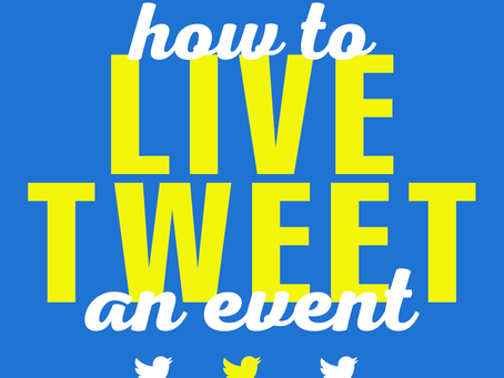 How To Live Tweet An Event