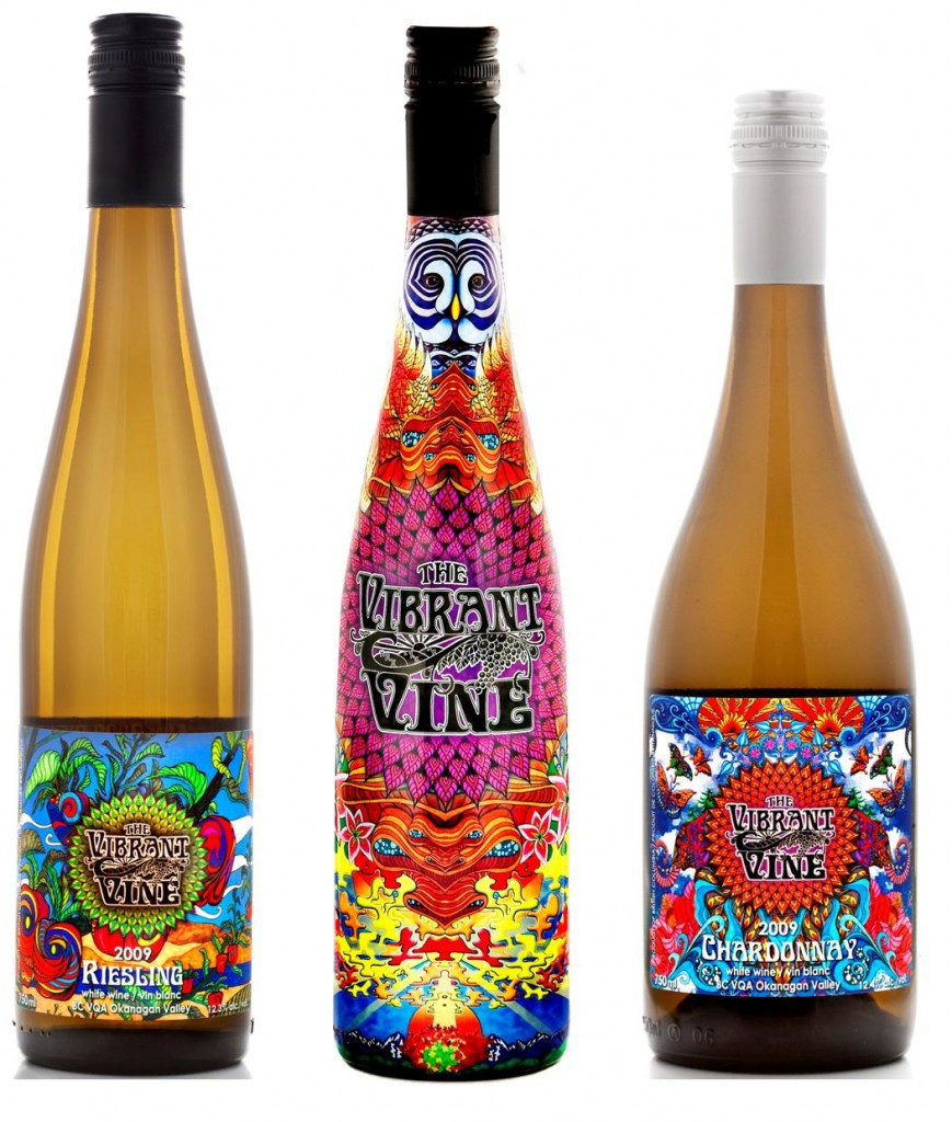 wines with cool labels vibrant wine