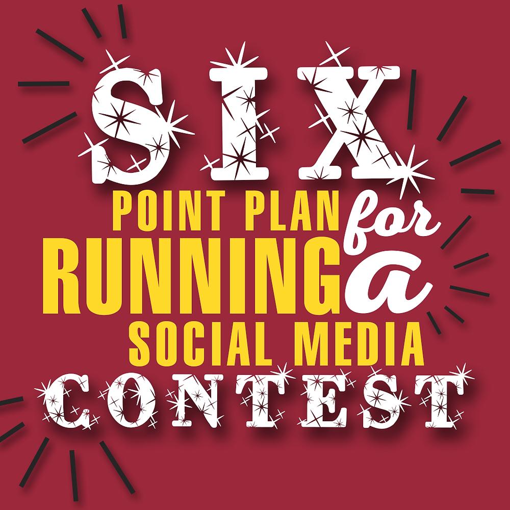 tips for running social media contest