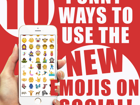 10 Punny Ways to Use the New iOS11 Emojis On Social Media