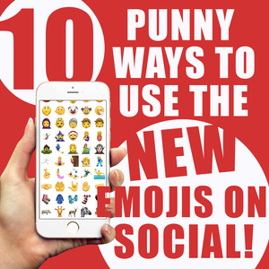 10 Punny Ways To Use The New Emojis On Social