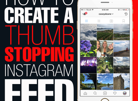How To Create A Thumb-Stopping Instagram Feed