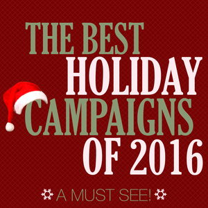 social media holiday campaigns 2016