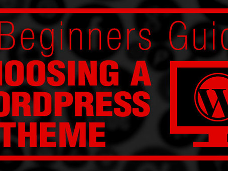 A Beginners Guide: Choosing a WordPress Theme