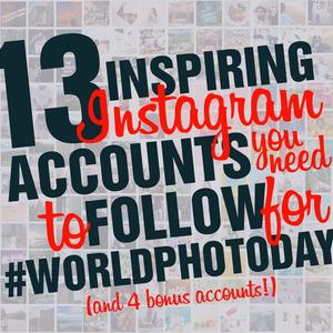 #WorldPhotoDay