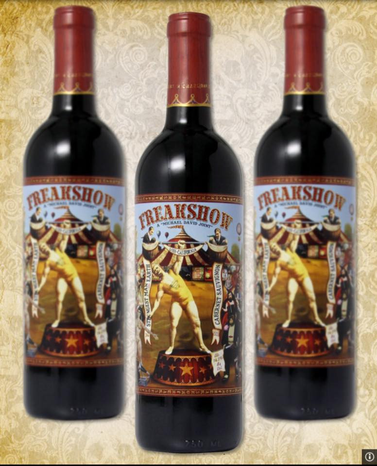 wines with cool labels freakshow