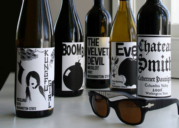 wines with cool labels charles smith