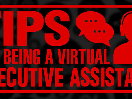 Tips for Being a Virtual Executive Assistant #BeLikeDonna