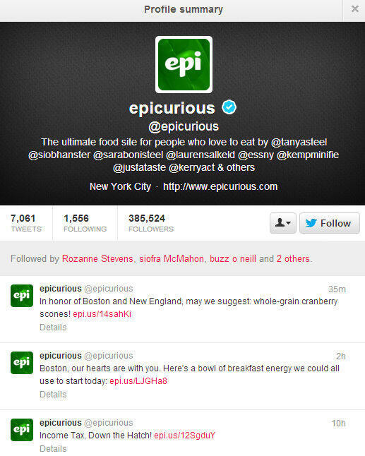 ways to fail at social media epicurious