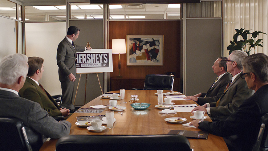Mad Men Hershey's Pitch