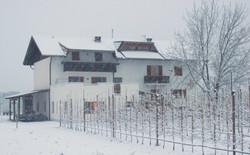 Sackgut im Schnee
