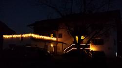 Haus Sackgut in Weihnachtstimmung