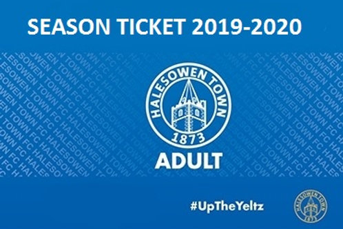 2019-20 Early Bird Adult season ticket