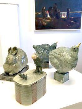 Skulpturer signert Kjersti Olsen