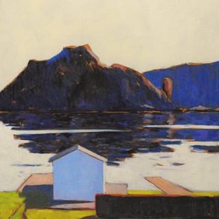 Ned mot Sjøen - Maleri