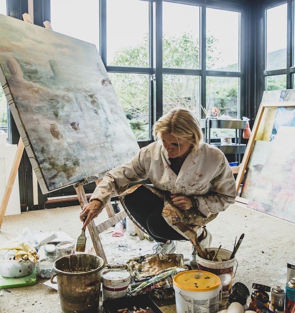 Atelieret. Cecilie Galtung Døsvig