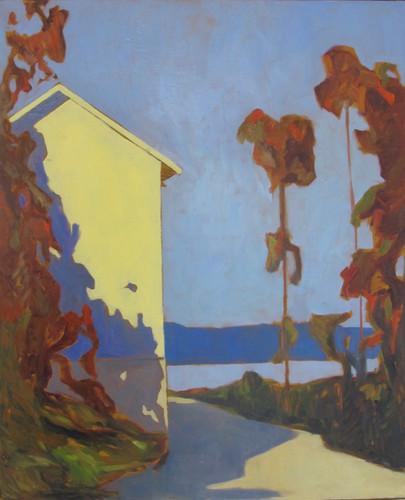 """"""" Varm Morgen """" 60 x 70 cm ( Solgt )"""