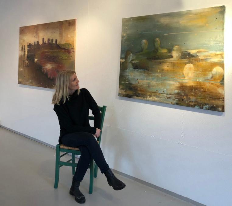 Fra tidligere utstilling i Vedholmen Galleri