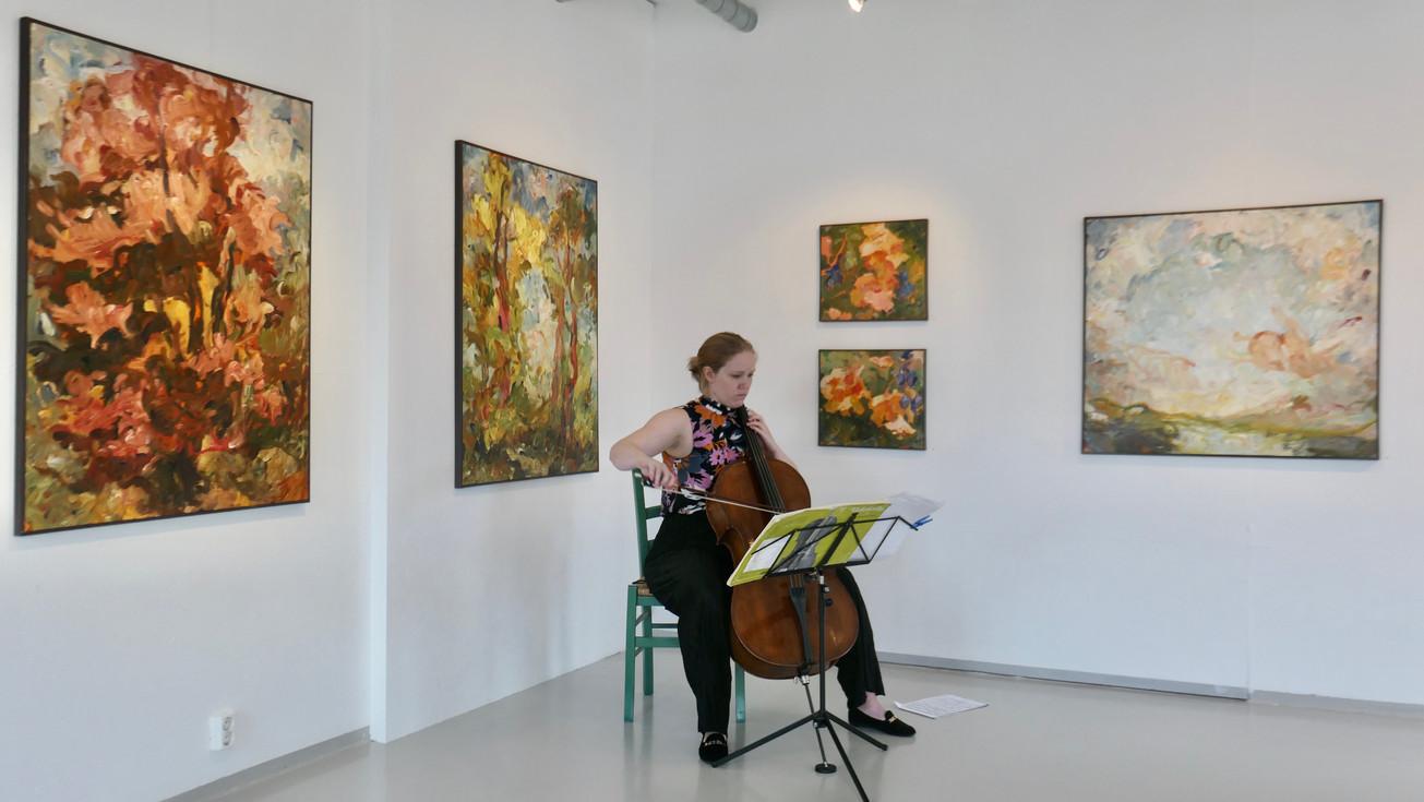 Cellist Ragnhild Sannes