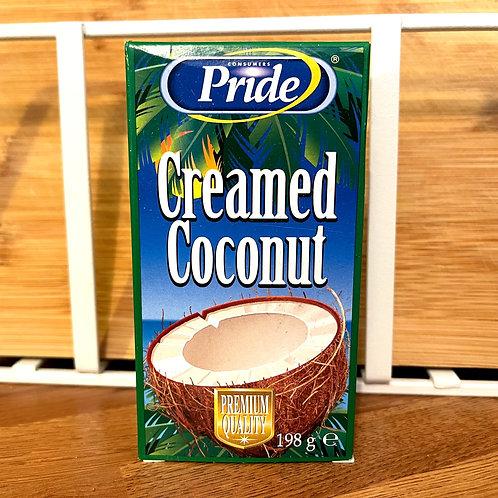 Pride Creamed Coconut (coconut block) 198g
