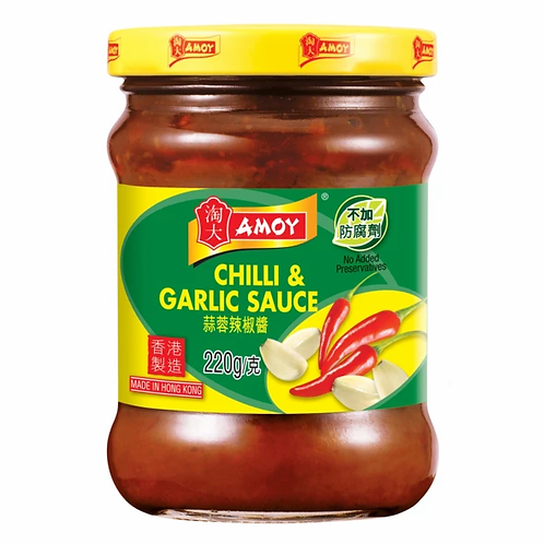 Amoy Chilli and Garlic sauce 220g