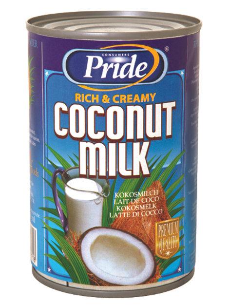 Pride coconut milk