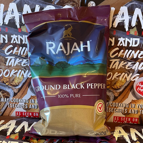 Rajah Ground Black Pepper 400g