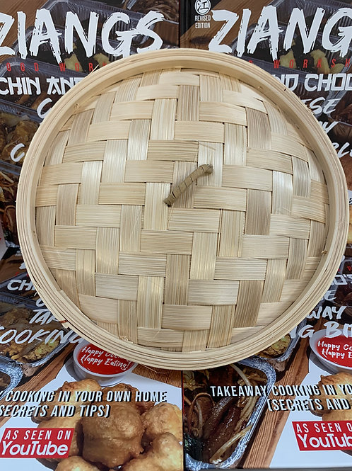 12 inch Bamboo Steamer Lid (Base sold separately)