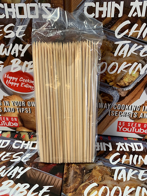 6 inch Bamboo Skewers x200