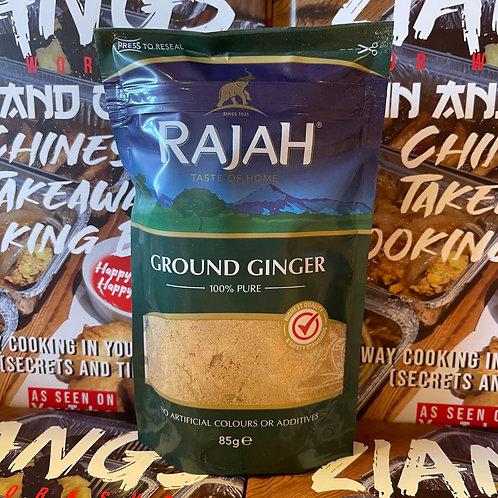 Rajah Ground Ginger (NOT sand ginger) 85g