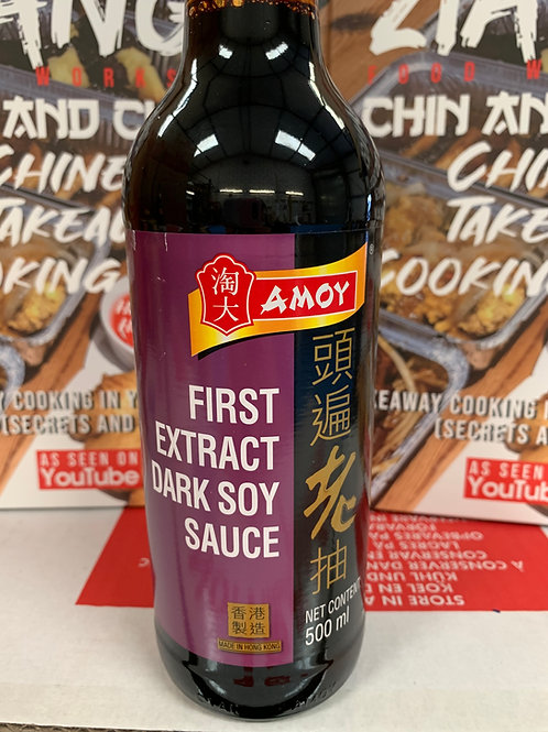 Amoy First Extract Dark Soy Sauce 500ml