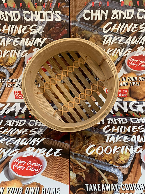 6 inch Bamboo Steamer Base (lid sold separately)
