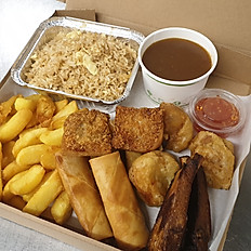 Chinese Munch box (free drink)