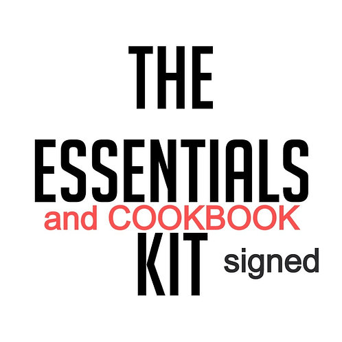 Chinese Takeaway Essential Ingredients Kit and signed Cookbook