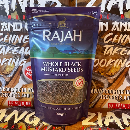 Rajah Whole black mustard seeds 100g