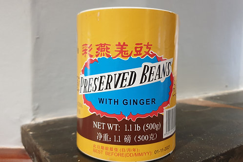Preserved Black Beans With Ginger 400g